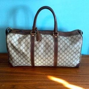 Gucci Boston Bag 1950's GUARANTEED AUTHENTIC
